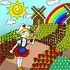 Field of Flowers free Dressup Girl Game online game