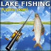 Lake fishing: Alpine pearl online game