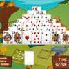 Pyramide Solitaire : Farm Edition online game