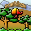 Rescuer Helicopter free Flying Game online game