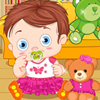 Baby With Teddy Bear online game