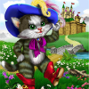 Cat in boots. Find objects online game