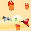 Rescue from Meteorite Shower free Arcade Game online game