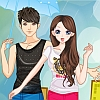 Fun in the Rain Dress Up online game