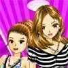 Stripes and Checks - Dressup Girl Game online game