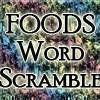 Foods Scramble online game