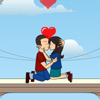 Balcony Kiss online game