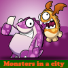 Monsters in a city online game