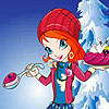 Bloom Christmas Dressup online game