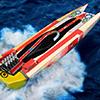 V10 Powerboat racer