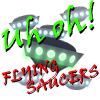 Uh Oh! Flying Saucers! online game