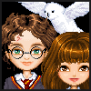 Harry Potter and Friends Dressup online game