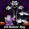 All Saints' Day. Find objects online game