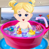 Baby Girl Bathing online game