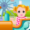 Baby in Theme Park online game