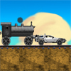Back to the future Train Scene online game