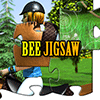Bee Jigsaw : Horse Jumping online game