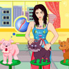 Brittany Birt: Pets Care online game