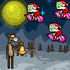 Christmas Zombie online game