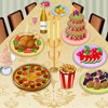 Colorful Dinner Decor  online game