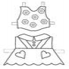 Coloring Dress Up Doll -1 (2/3) online game