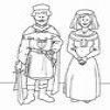 Coloring Middle Ages -1 online game