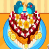 Cute Heart Cake online game