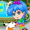 Cute pet lover dress up online game