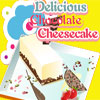 Delicious chocolate cheesecake online game