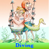 Diving. Find objects online game