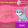 Dress up pretty kitty online game