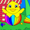 Easter Basket Coloring online game