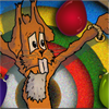 Easter Bunny Knife Toss online game