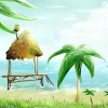 Fairy Beach find numbers online game