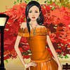 Fall Glamour Dress Up online game