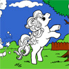 Fancy Pony Coloring online game