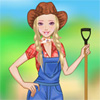 Farm Girl Dressup online game