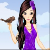 Fashion Girl and Cute Birds online game