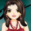 Fashionable Girl In Red online game
