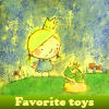 Favorite toys. Find objects online game