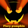 Fiery pumpkin. Find objects online game