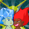 Fire Baby Chases Ice Baby online game
