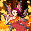 Fire Fairy Dress Up online game