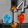 FireBoy and WaterGirl 4: The Crystal Temple online game