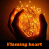 Flaming heart 5 Differences online game