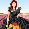 Flower Power Couture Dress Up online game