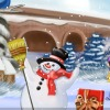 Funky Frosty Decoration online game