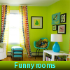 Funny rooms. Find objects online game