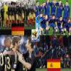 Germany - Spain, semi-finals, South Africa 2010 Puzzles online game