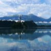 Lake Bled Jigsaw online game